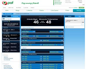 PAF Kihlveokontor Screenshot [object object] ENNUSTA TASUTA JA VÕIDA OMALE €50 PROMORAHA pafscreen1