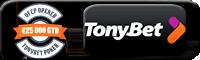 TONYBET Pokker Online Pokkeritoad Online Pokkeritoad tonybet pokker boonus 200x60