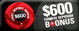 POKERSTARS Pokker Online Pokkeritoad Online Pokkeritoad Pokerstars 600 boonus EE100 160x64