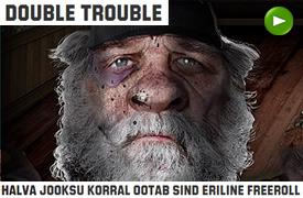 UNIBETIS OOTAB SIND HALVA JOOKSU KORRAL ERILINE FREEROLL FREEROLLID FREEROLLID double trouble unibet boonus 1
