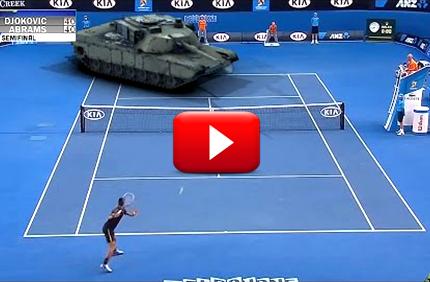 Austraalia lahtistel inimene vs Tank - KES VÕIDAB?! Austraalia lahtistel inimene vs Tank – KES VÕIDAB?! Djokovic v Abrams Semi boonused 1 Ajaviide-videod Ajaviide-videod Djokovic v Abrams Semi boonused 1