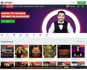 OPTIBET Kasiino Screenshot Online Kasiinod Online Kasiinod optibet casino screen 1