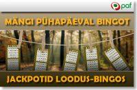 PAF PÜHAPÄEVASED BINGO JACKPOTID coolbet Coolbet paf jackpot bingo boonused 1 200x131