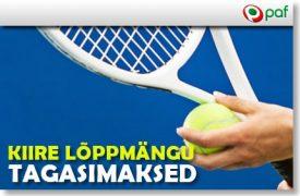 VAATA PAF 'KIIRE LÕPPMÄNGU TAGASIMAKSED' PAKKUMIST indian wells TEE ENNUSTUSI INDIAN WELLS TENNISETURNIIRILE JA OSALED IGAPÄEVASES €500 RAHALOOSIS kiire tagasimaksed tennis paf boonused 1 430x282 275x180