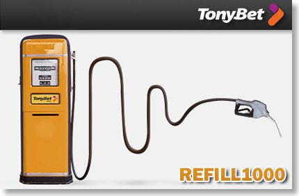 tonybet pokker reload boonus 100% kuni €1000 TONYBET POKKER RELOAD BOONUS 100% KUNI €1000 lae raha uuesti 1000 tonybet boonused 1