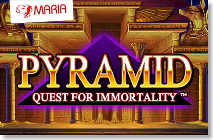 "Maria esitleb: ""Pyramid – Quest for Immortality – uks iidsesse maailma"" Maria esitleb: ""Pyramid – Quest for Immortality – uks iidsesse maailma"" maria esitleb pyramid quest for immortality Kasiino videod Kasiino videod maria esitleb pyramid quest for immortality"