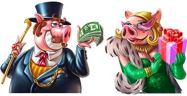 netent slotikatel IGA 50 KEERUTUST NETENT SLOTIKATEL ANNAB 1 EUROT BOONUST Piggy Riches boonus 1