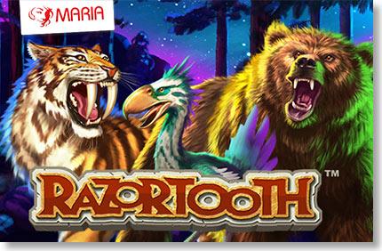 """Maria esitleb: """"Razortooth - ürgaegsed aarded!"""" Maria esitleb: """"Razortooth – ürgaegsed aarded!"""" razortooth maria boonused 1 Kasiino videod Kasiino videod razortooth maria boonused 1"""