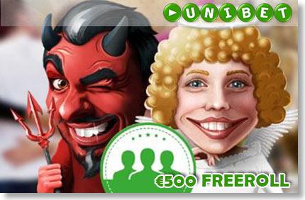 SOOVITA UNIBETTI SÕPRADELE NING OSALE €500 FREEROLLIL FREEROLLID FREEROLLID soovita freeroll boonused unibet 1