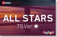 MÄNGI BINGOT JA SAA OMALE EKSKLUSIIVNE LIGIPÄÄS BINGOTOALE 'ALL STARS' olybet Olybet bingo all stars maria privaat boonused 1 200x131