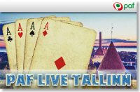 Paf Live Tallinn +freeroll +satelliidid Satelliit turniirid Satelliit turniirid paf live tallinn pokker boonused 1 200x131