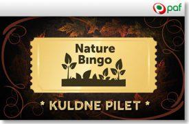 NATURE BINGO KULDNE PILET ANNAB SUUREMAD VÕIDUD paf kasiino Paf Kasiino nature bingo kuldne pilet paf boonused 1 275x180