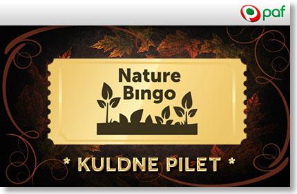 KULDNE PILET -paf-boonused-1 kuldne pilet NATURE BINGO KULDNE PILET ANNAB SUUREMAD VÕIDUD nature bingo kuldne pilet paf boonused 1