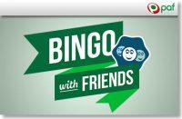 BINGO WITH FRIENDS - IGAL LAUPÄEVAL KELL 20:00 GARANTEERITUD AUHINNAPOTT €1000 olybet Olybet bingo with firends paf garanteeritud boonused 1 200x131