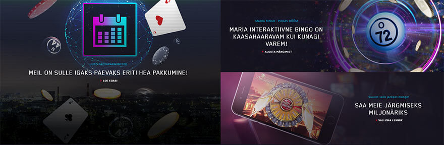 maria kasiino Maria Kasiino maria casino screenshot pakkumised 880x288