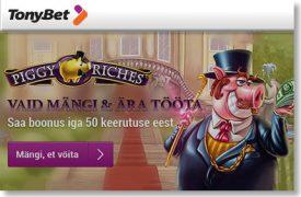 IGA 50 KEERUTUST NETENT SLOTIKATEL ANNAB 1 EUROT BOONUST kasiino kampaaniad page-2 kasiino kampaaniad page-2 tonybet lojaalsusboonus slotikad 1 275x180