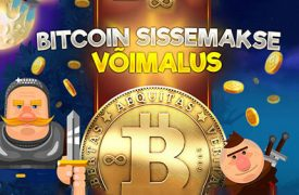 KINGSWIN KASIINOS SAAD TEHA ÜLEKANDEID BITCOIN'IDES uued mÄngud CHANZ KASIINO UUED MÄNGUD: Drive Multiplier Mayhem; Fantasini Master of Mystery; Guns N' Roses bitcoin kasiino kingswin sissemakse boonused 1 275x180