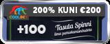 COOLBET Kasiino 1kg puhast kulda MÄNGI NETENT MÄNGE JA VÕIDA OMALE 1KG PUHAST KULDA coolbet kasiino boonused icon 160x64