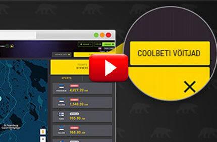Coolbet esitleb uut funktsiooni - kasutajate kasiino ja spordiennustuste võidud reaalajas Coolbet esitleb uut funktsiooni – kasutajate kasiino ja spordiennustuste võidud reaalajas coolbet votijad video 1