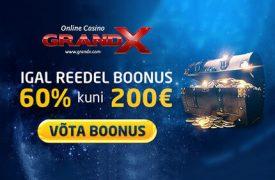 UUS MÄNG DRAGON'S KINGDOM + REEDENE BOONUS €200 grandprix kasiino GrandPrix Kasiino deposiidi boonus reede grandx 250 euro boonused 1 275x180