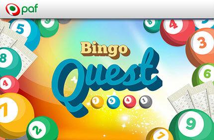 PAF BINGO QUEST – 7 PÄEVA & 7 ÜLESANNET bingo boonused BINGO BOONUSED paf bingo quest boonused 1