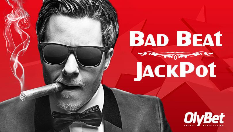 bad beat jackpot bad beat jackpot BAD BEAT JACKPOT VÕIB SULLE TUUA ELU SUURIMA POKKERIVÕIDU olybet bad beat jackpot boonus