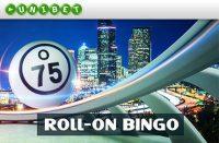 ROLL ON BINGO PAKUB SULLE PÜHAPÄEVA HILISÕHTUL ROHKELT VÕIDUVÕIMALUSI triobet Triobet roll on bingo unibet kasiino boonused 1 200x131