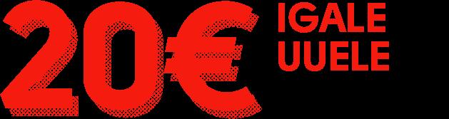tasuta 20 eurot tasuta raha OLYBET ANNAB IGALE UUELE LIITUJALE 20 EUROT TASUTA RAHA SPORDILE PANUSTAMISEKS 20eur olybet sport