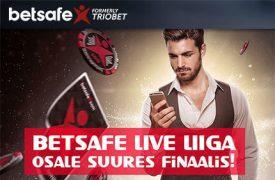 BETSAFE LIVE LIIGA triobet Triobet betsafe live liiga pokker boonused 1 275x180