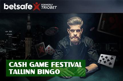 CASH GAME FESTIVAL pokkeri kampaaniad Pokkeri kampaaniad, boonused, pakkumised, pokkeritoad, pokkeriturniirid, freerollid, tasuta raha betsafe pokker cash game festival bingo 1