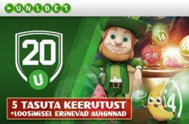 Tasuta Keerutused unibet kasiino Unibet Kasiino bingo tasuta keerutused auhinnad unibet boonused 1 275x180