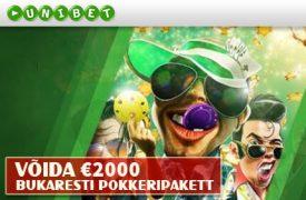Bukaresti pokkeripakett pokkeri kampaaniad Pokkeri kampaaniad, boonused, pakkumised, pokkeritoad, pokkeriturniirid, freerollid, tasuta raha bukaresti pokkeripakett unibet boonused 1 275x180