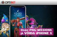 iPhone X optibet Optibet optibet png missioon iphone x boonused 1 200x131