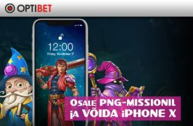 iPhone X optibet Optibet optibet png missioon iphone x boonused 1 275x180