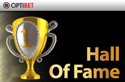 Hall Of Fame hall of fame OPTIBETi SPORDIENNUSTUSE HALL OF FAME TOOB VÄLJA NII MITMEDKI ÜLLATAVAD TULEMUSED optibet sport hall of fame boonused 1