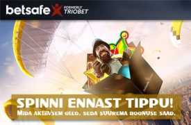 boonused triobet Triobet spinni ennast tippu betsafe boonused 1 275x180