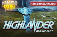 Rahasadu coolbet Coolbet 20000 rahasadu highlander kingswin boonused 1 200x131