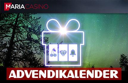 ADVENDIKALENDER advendikalender MARIA KASIINO MAAGILINE ADVENDIKALENDER PAKUB PALJU PÕNEVAT advendikalender joulukalender maria kasiino boonused 1