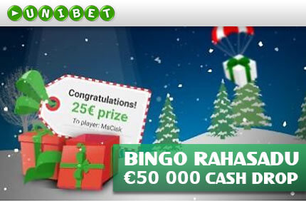 Bingo Cash Drop bingo boonused BINGO BOONUSED cash drop bingo unibet boonused 1