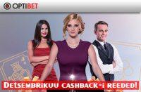 Cashback-i reeded triobet Triobet detsembrikuu cashback reeded optibet boonused 1 200x131