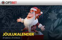 Optibeti jõulukalender triobet Triobet optibet joulukalender boonused kampaaniad 1 200x131