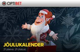 Optibeti jõulukalender optibet kihlveokontor Optibet Kihlveokontor optibet joulukalender boonused kampaaniad 1 275x180