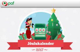 Jõulukalender kuldne pilet NATURE BINGO KULDNE PILET ANNAB SUUREMAD VÕIDUD paf joulukalender 2017 boonused kasiino 1 275x180