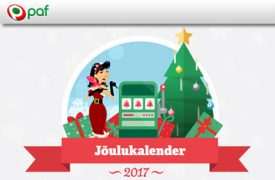 Jõulukalender paf kasiino Paf Kasiino paf joulukalender 2017 boonused kasiino 1 275x180