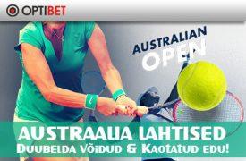Austraalia Lahtised hall of fame OPTIBETi SPORDIENNUSTUSE HALL OF FAME TOOB VÄLJA NII MITMEDKI ÜLLATAVAD TULEMUSED austraalia lahtised duubelda tennis optibet 1 275x180