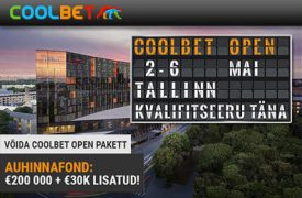 COOLBET OPEN [object object] Coolbet pokker coolbet open satelliidid pokker boonused 1 275x180