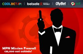 Mission Freeroll fish party OSALE COOLBET POKKERITOA FISH PARTY TURNIIRIDEL NING VÕIDA HIIGLASLIK PROGRESSIIVNE JACKPOT! mpn mission freeroll auhinnad pokker 1 275x180