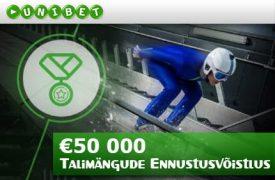 Talimängude Ennustusvõistlus mitmikpanus Eestlane võitis Unibet'is €300-se mitmikpanusega 230 906 eurot! talimangude ennustusvoistlus unibet boonused 1 275x180