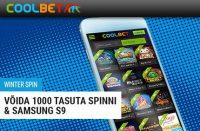 Winter Sport bingo boonused BINGO BOONUSED winter sport samsung s9 coolbet boonused 1 200x131