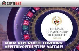 Ruleti Euroopa Meistrivõistlused tervitusboonus OPTIBET KASIINO TERVITUSBOONUS €1000 +iPhone X loosimine euroopa meistrivoistlused rulett optibet kasiino boonused 1 275x180